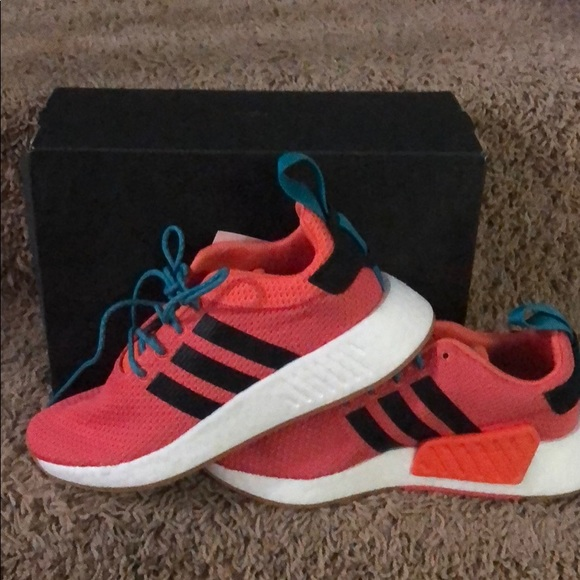 purchase cheap 73c03 43d99 Adidas NMD R2 Summer - orange and teal NEW boost NWT